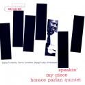 Horace Parlan Speakin' My Piece LP 180 Gram Vinyl 33rpm Music Matters Limited Edition Blue Note RTI USA