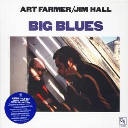 Art Farmer / Jim Hall Big Blues 2LP 45rpm Vinil 180g ORG Music Edição Limitada Bernie Grundman CTI USA