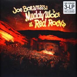 Joe Bonamassa Muddy Wolf at Red Rocks 3LP Vinil 180gr + Download Provogue Records Optimal 2015 EU