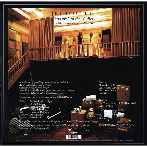 Jethro Tull Minstrel In The Gallery Lp 180 Gram Vinyl 40th