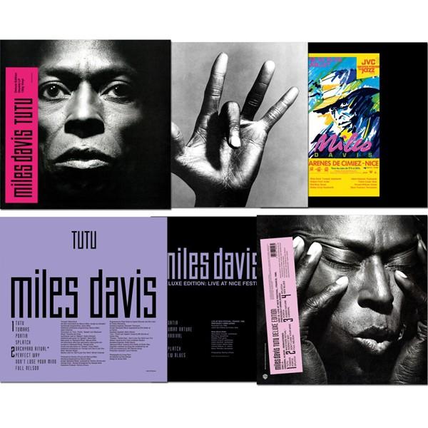 Miles Davis Tutu 2lp 180 Gram Vinyl Deluxe Edition Warner