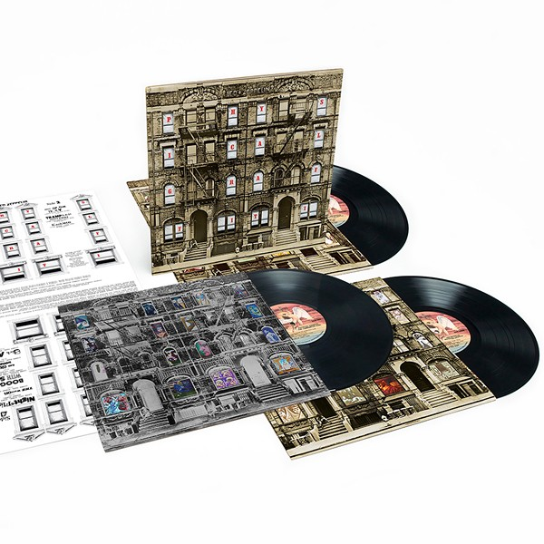 Led Zeppelin Physical Graffiti Edi 231 227 O Deluxe 3lp Vinil