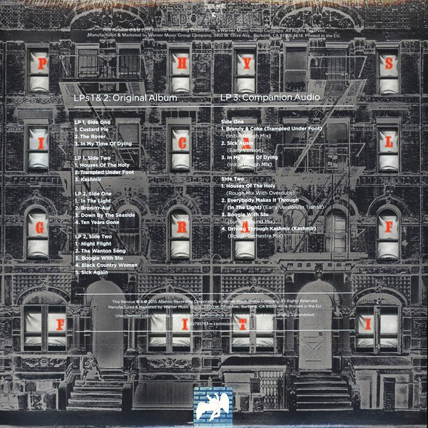 Led Zeppelin Physical Graffiti Deluxe Edition 3lp 180g