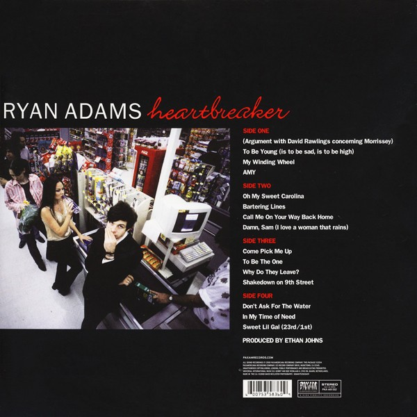 Ryan Adams Heartbreaker 2lp 180 Gram Vinyl 24 96 Wav