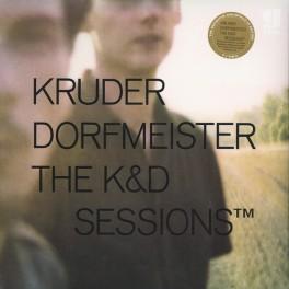 Kruder Dorfmeister The K&D Sessions 5LP Vinil 180 Gramas !K7 Records Bernie Grundman Pallas 2015 EU