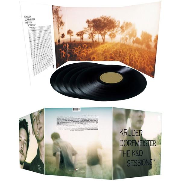 Kruder Dorfmeister The K Amp D Sessions 5lp 180 Gram Vinyl K7