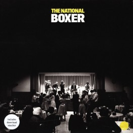 The National Boxer LP 180 Gram Yellow Vinyl + Download Beggars Banquet Records 2011 Reissue EU