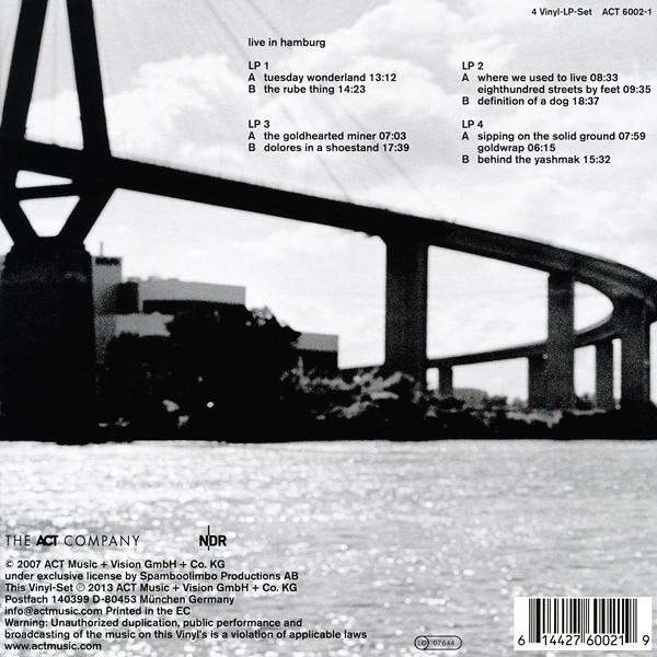 Esbj 246 Rn Svensson Trio E S T Live In Hamburg 4lp 180 Gram