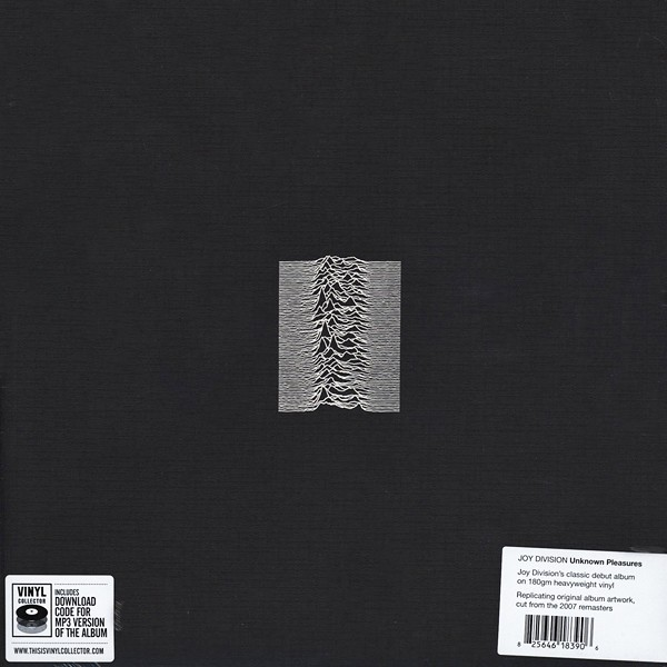 Joy Division Unknown Pleasures Lp 180 Gram Vinyl