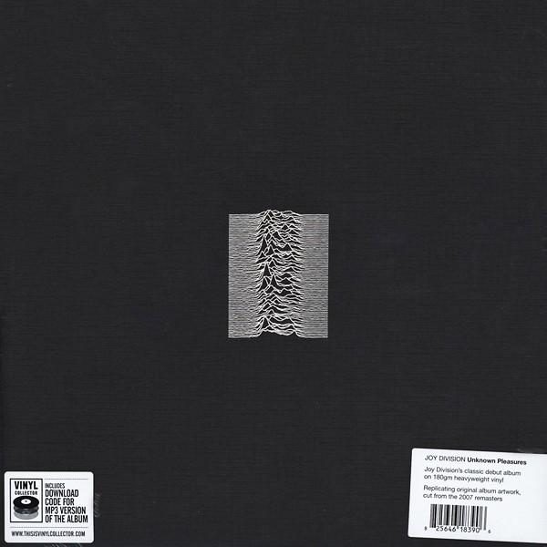 Joy Division Unknown Pleasures Lp 180 Gram Vinyl
