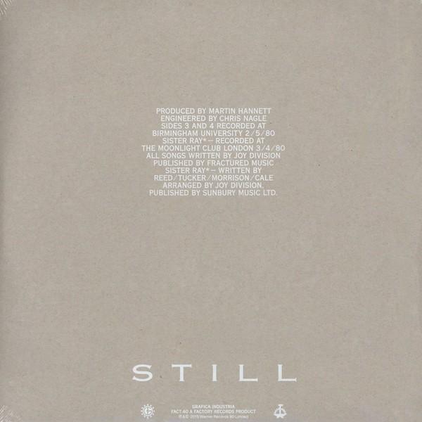 Joy Division Still 2lp 180 Gram Vinyl Download Factory