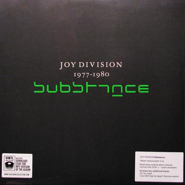 Joy Division Substance 2lp 180 Gram Vinyl Download