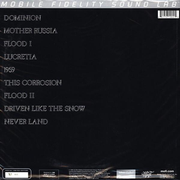 The Sisters Of Mercy Floodland Lp Vinyl Mobile Fidelity