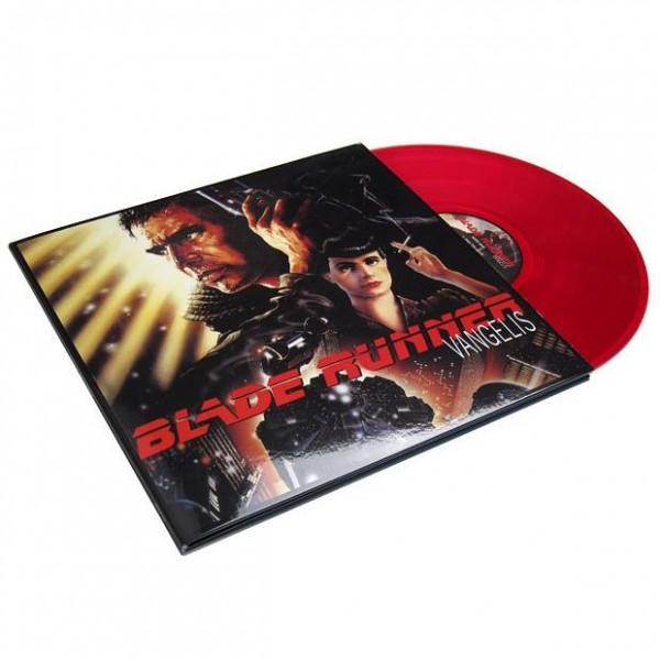 Vangelis Blade Runner 180g Vinyl Lp Translucent Red Audio
