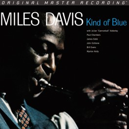 Miles Davis Kind Of Blue 2LP 45rpm 180g Vinyl Limited Edition Numbered Box Set Mobile Fidelity MFSL USA