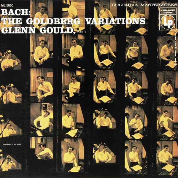 Glenn Gould The Goldberg Variations 1955 Bach Lp 180 Gram