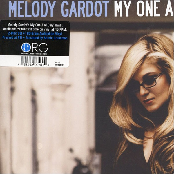 Melody Gardot My One And Only Thrill 2lp 45rpm Vinil 180gr