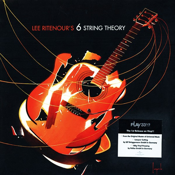 Lee Ritenour 6 String Theory 2lp 180 Gram Vinyl Sst