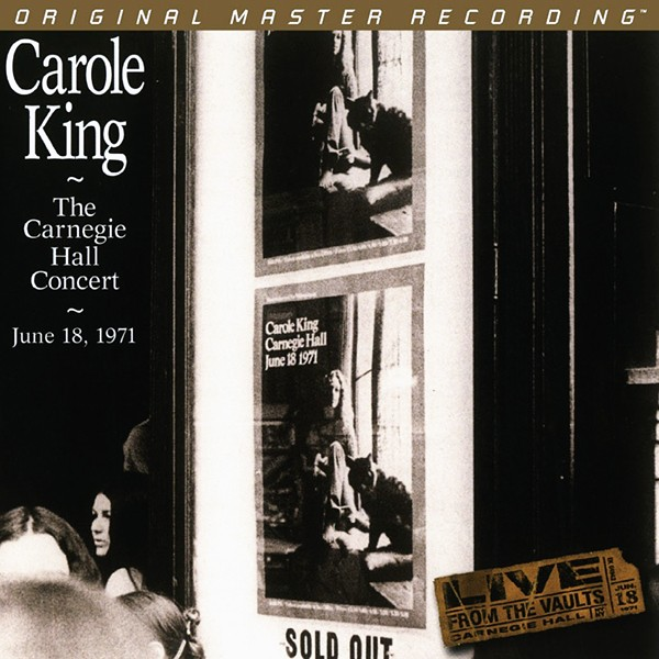 Carole King The Carnegie Hall Concert 1971 2lp 180 Gram