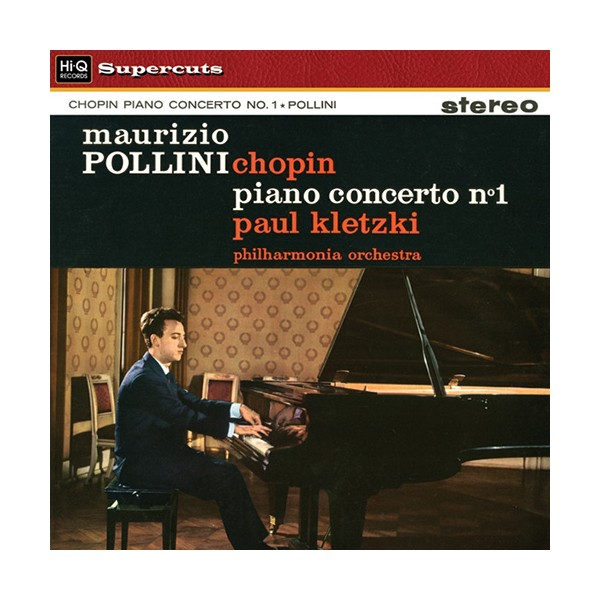 Chopin Piano Concerto No 1 Lp 180g Vinyl Pollini Kletzki