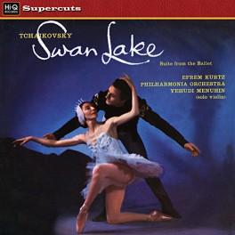 Tchaikovsky Swan Lake LP 180g Vinyl Yehudi Menuhin Kurtz Philharmonia Orchestra Hi-Q Supercuts 2015 EU