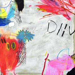 DIIV Is The Is Are 2LP Vinyl 12 Page Art Booklets Captured Tracks 2016 USA