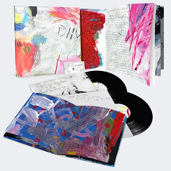 DIIV Is The Is Are 2LP Vinyl 12 Page Art Booklets Captured