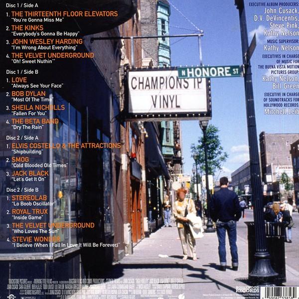 High Fidelity Soundtrack 2lp Vinyl 15th Anniversary Editon