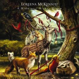 Loreena McKennitt A Midwinter Night's Dream LP Vinil 180 Gramas Edição Limitada Numerada 2014 EU
