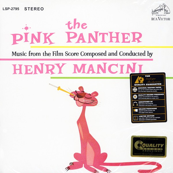 Henry Mancini The Pink Panther Soundtrack 2lp 45rpm 200