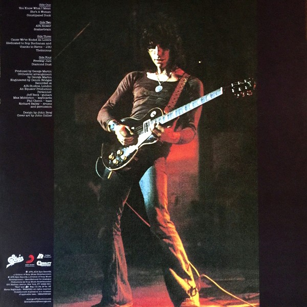 Jeff Beck Blow By Blow 2lp 45rpm 200g Vinyl Analogue