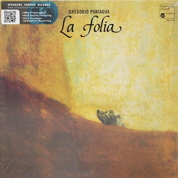 Gregorio Paniagua La Folia De La Spagna Lp 180g Vinyl