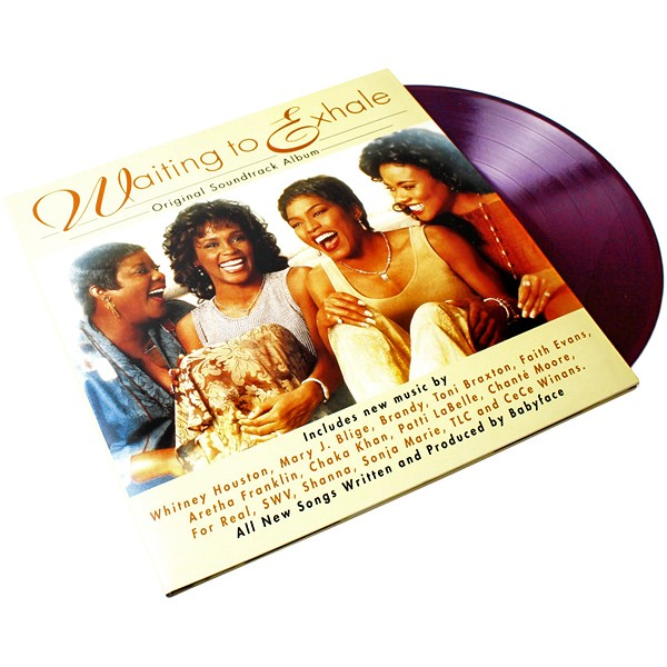 Waiting To Exhale Soundtrack 2lp Purple Vinyl Limited