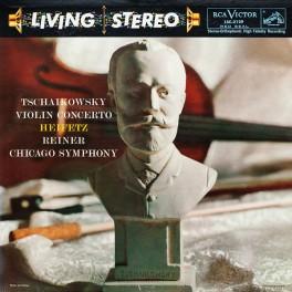 Tchaikovsky Violin Concerto Heifetz Reiner LP 200g Vinyl Analogue Productions Sterling QRP 2015 USA