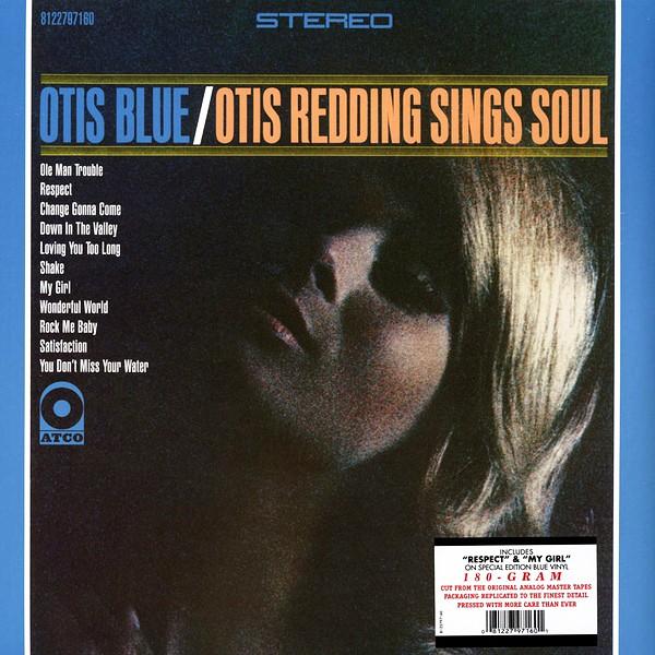 Otis Blue Otis Redding Sings Soul Lp 180 Gram Blue Vinyl