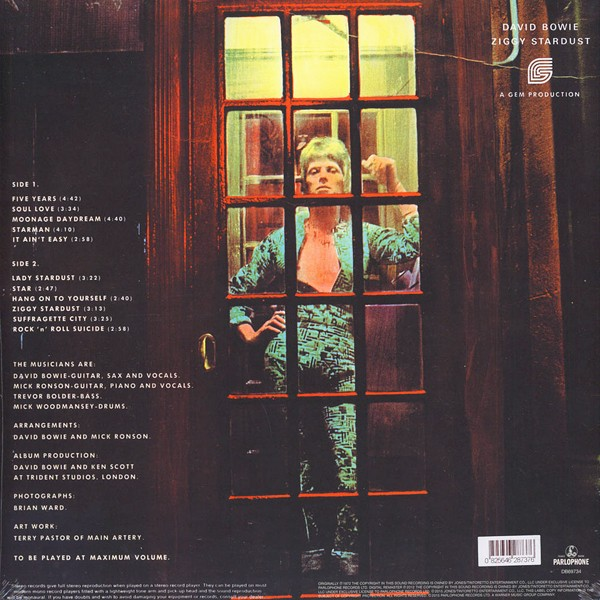 David Bowie The Rise And Fall Of Ziggy Stardust And The