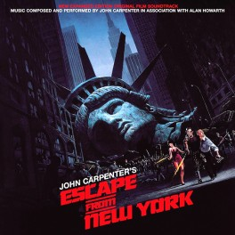 John Carpenter Escape From New York 2LP 180g Vinyl Soundtrack Expanded Edition Alan Howarth 2015 EU