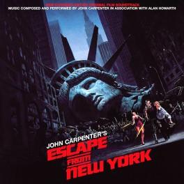 John Carpenter Escape From New York 2LP Vinil 180g Banda Sonora Expanded Edition Alan Howarth 2015 EU
