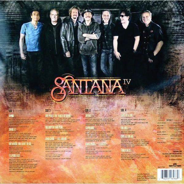 Santana Santana Iv 2lp 180 Gram Vinyl Embossed Gatefold