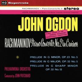 Rachmaninov Piano Concerto No. 2 John Ogdon LP 180 Gram Vinyl Hi-Q Records Supercuts 2016 EU