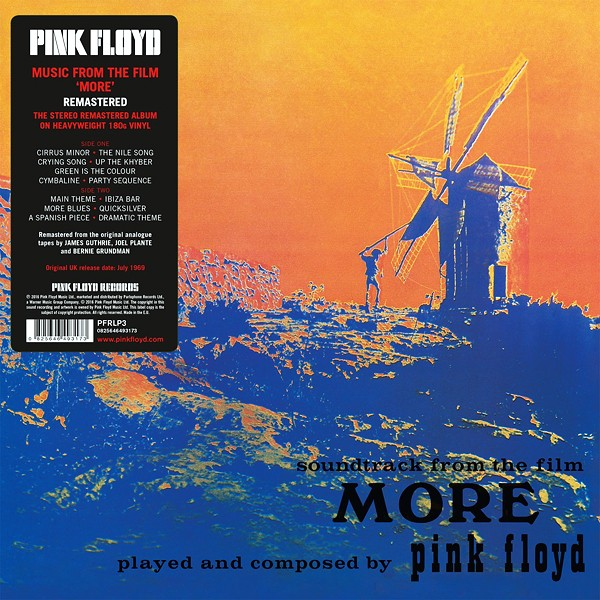 Pink Floyd Soundtrack From The Film More Lp 180g Vinyl