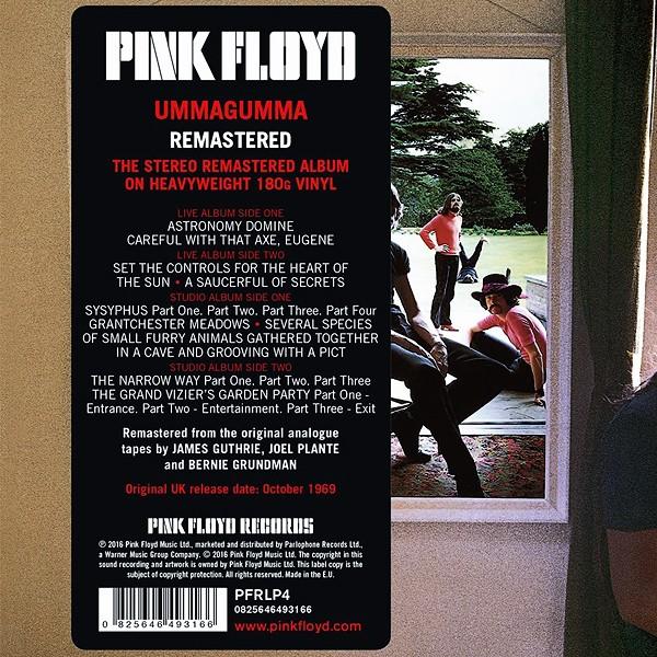 Pink Floyd Ummagumma 2lp 180 Gram Vinyl Gatefold