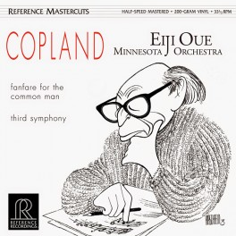 Copland Fanfare For The Common Man Third Symphony LP Vinil 180gr Reference Recordings Mastercuts USA