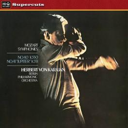 Mozart Symphonies No.40 & 41 Herbert Von Karajan Berlin LP 180g Vinyl Hi-Q Records Supercuts EU