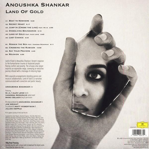 Anoushka Shankar Land Of Gold Lp 180 Gram Vinyl Download