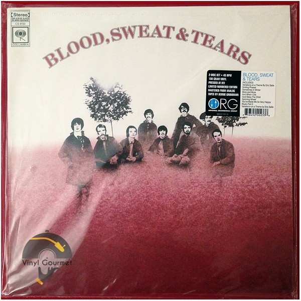 Blood Sweat Amp Tears 2lp 45rpm 180g Vinyl Original