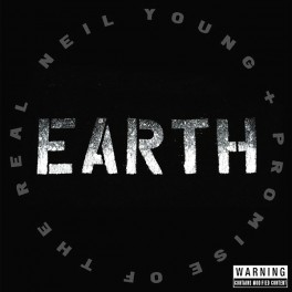 Neil Young And Promise Of The Real Earth 3LP Vinyl Bernie Grundman Mastering 2016 USA