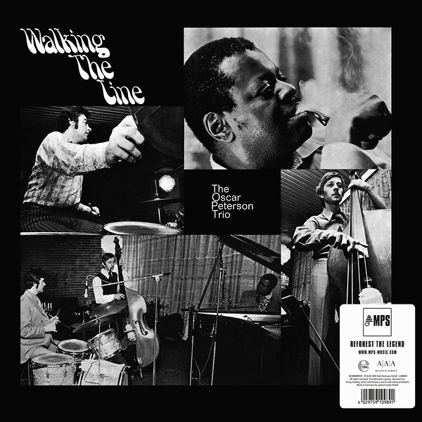 The Oscar Peterson Trio Walking The Line Lp 180 Gram Vinyl