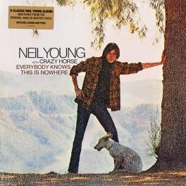 Neil Young Everybody Knows This Is Nowhere LP 180 Gram Vinyl Bernie Grundman Pallas Reprise 2009 EU