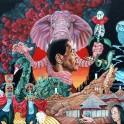 Sonny Simmons & Moksha Samnyasin Nomadic LP Limited Edition Orange Vinyl Svart Records 2014 EU